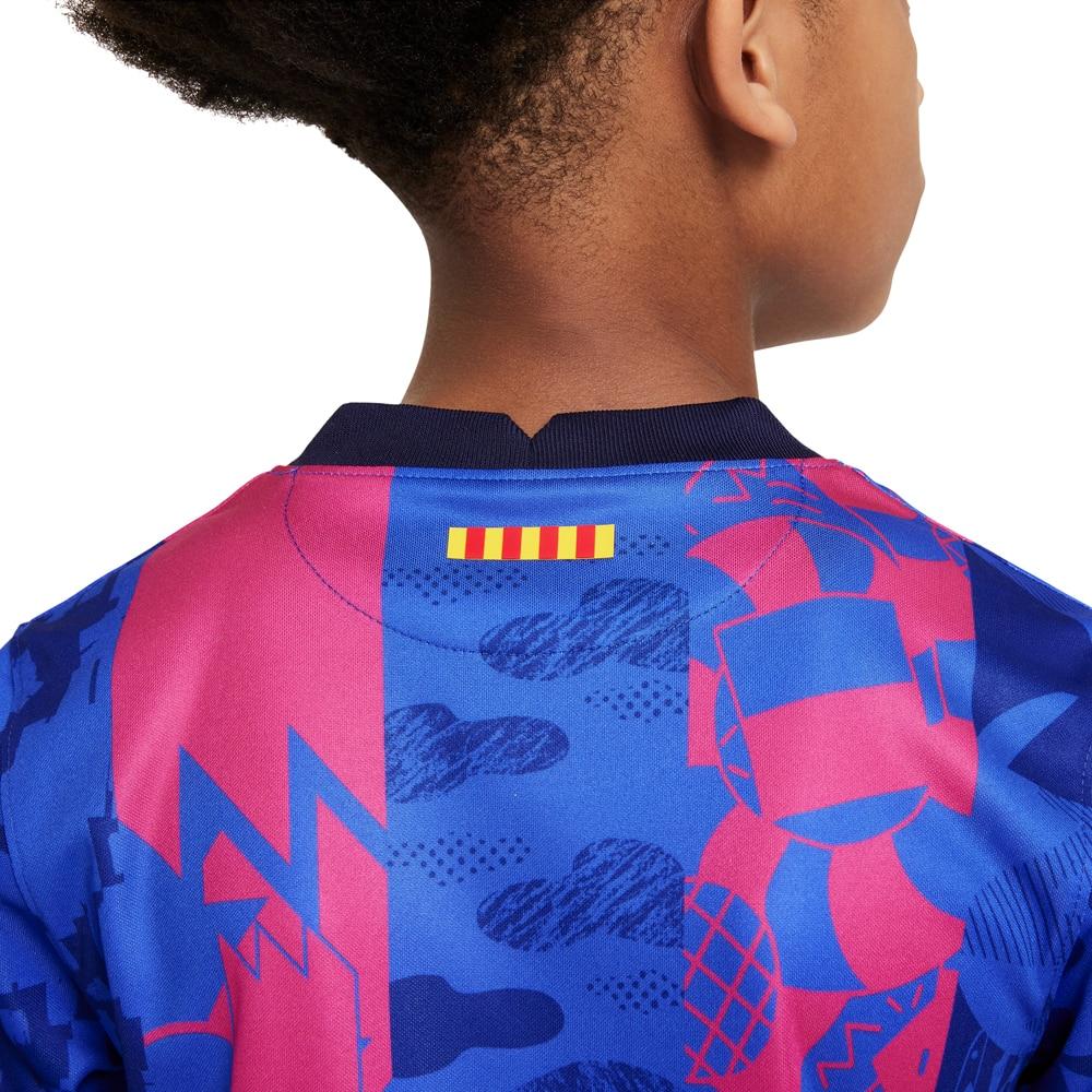 Nike FC Barcelona Fotballdrakt 21/22 3rd Barn