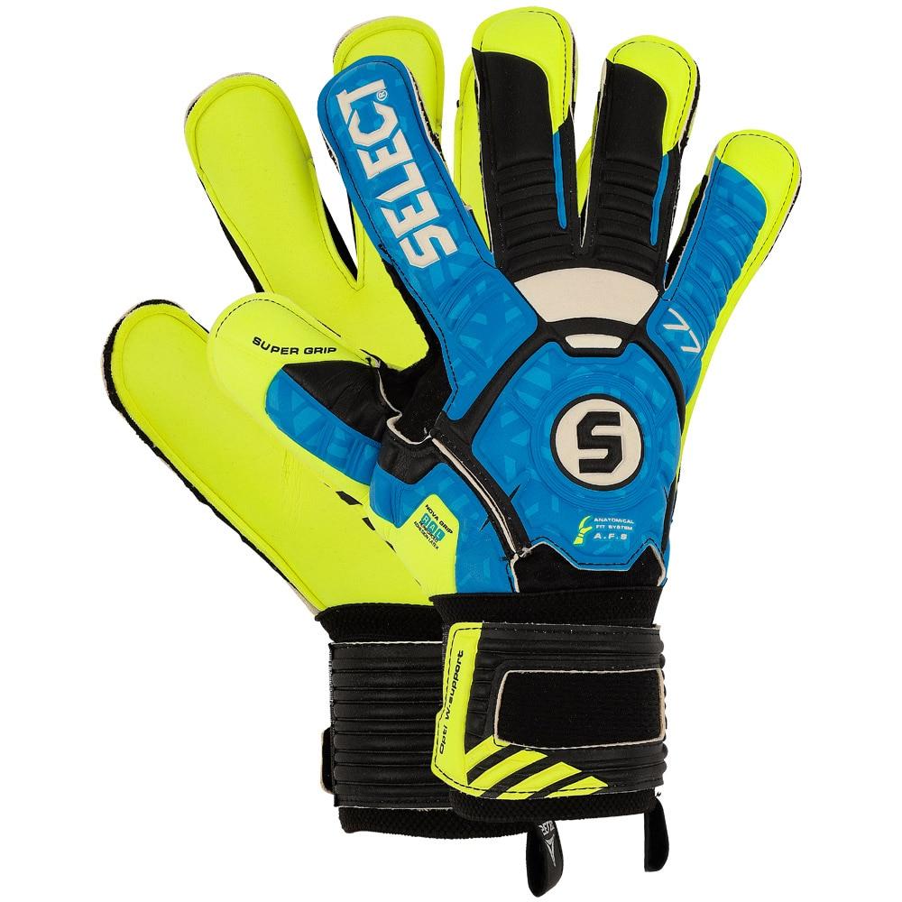 Select 77 Super Grip Keeperhansker Blå