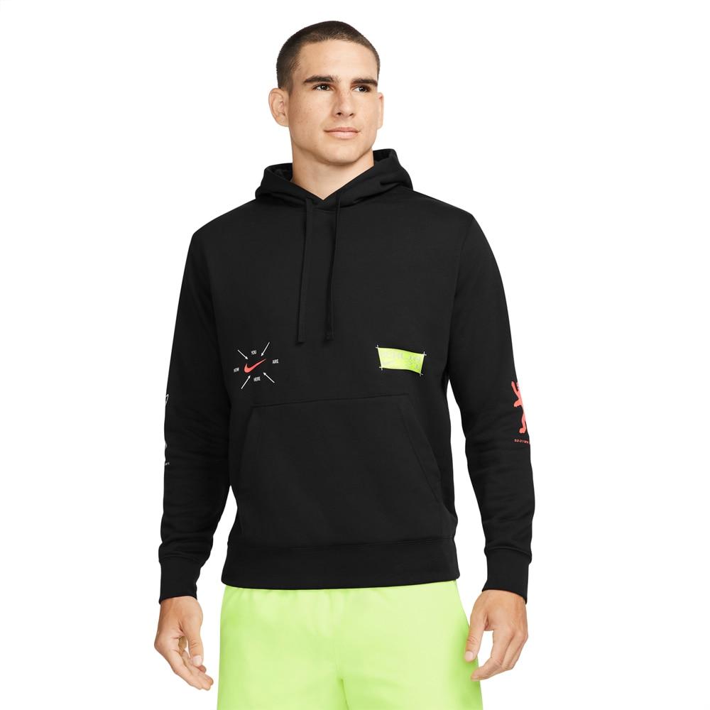 Nike Club Fleece Hettegenser Berlin Herre Sort