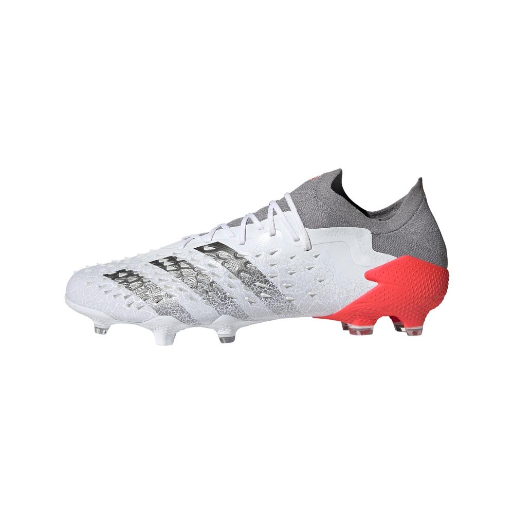Adidas Predator Freak .1 FG/AG Low Fotballsko Whitespark Pack