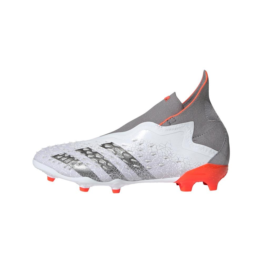 Adidas Predator + FG/AG Fotballsko Barn Whitespark Pack