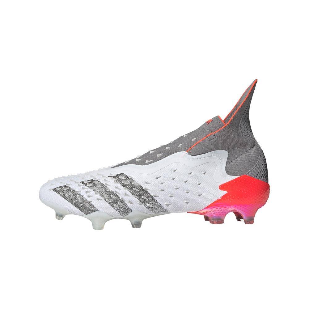 Adidas Predator Freak + FG/AG Fotballsko Whitespark Pack