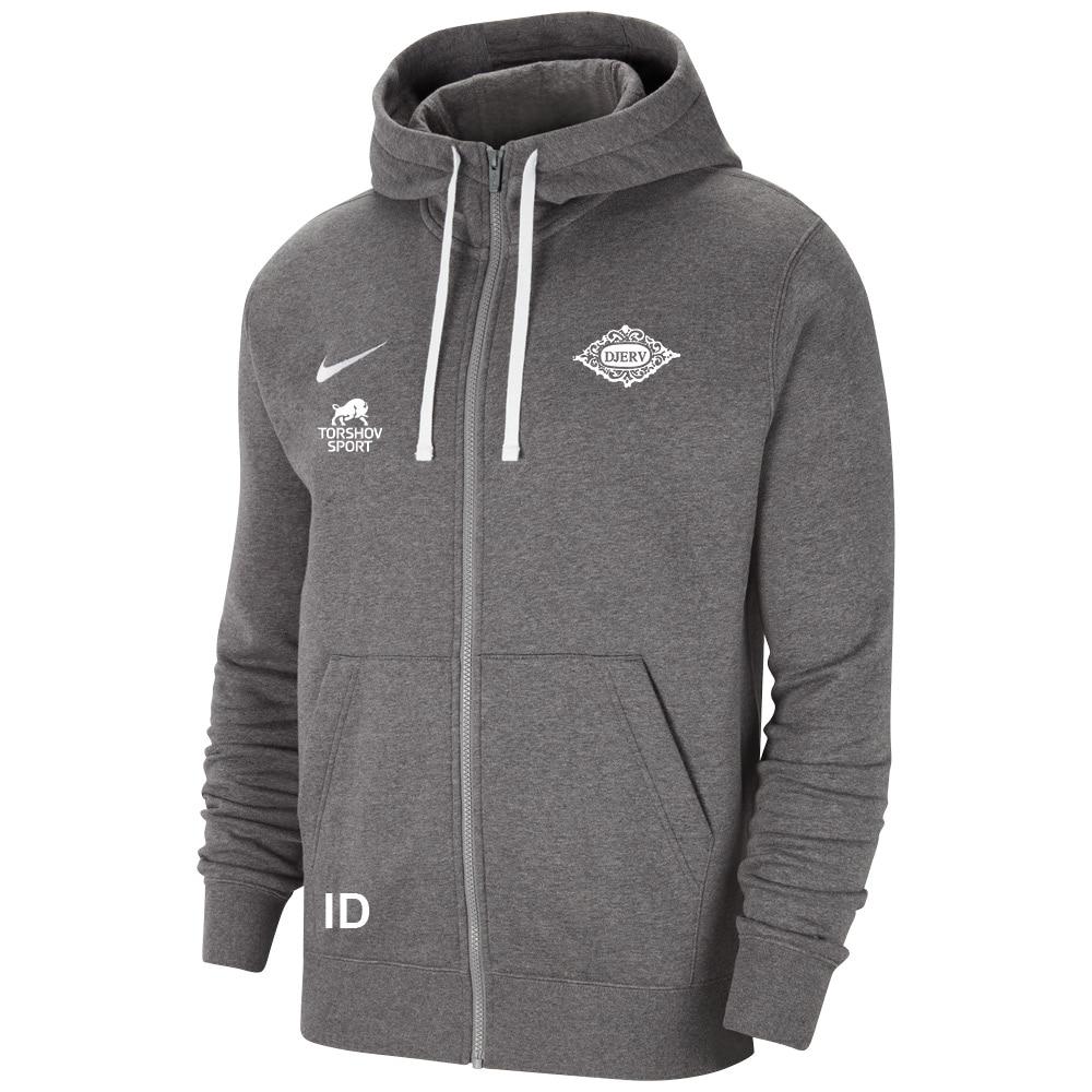 Nike SK Djerv Full-Zip Hettegenser Kullgrå