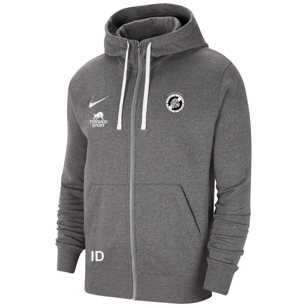 Nike Hemmingstad FK Full-Zip Hettegenser Kullgrå