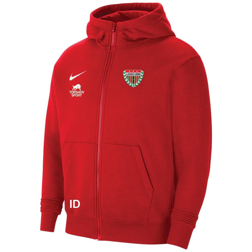 Nike Loddefjord IL Full-Zip Hettegenser Barn Rød