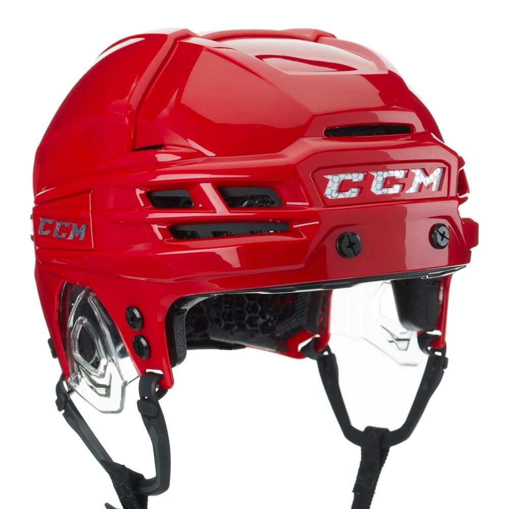 Ccm Super Tacks X Hockeyhjelm Rød