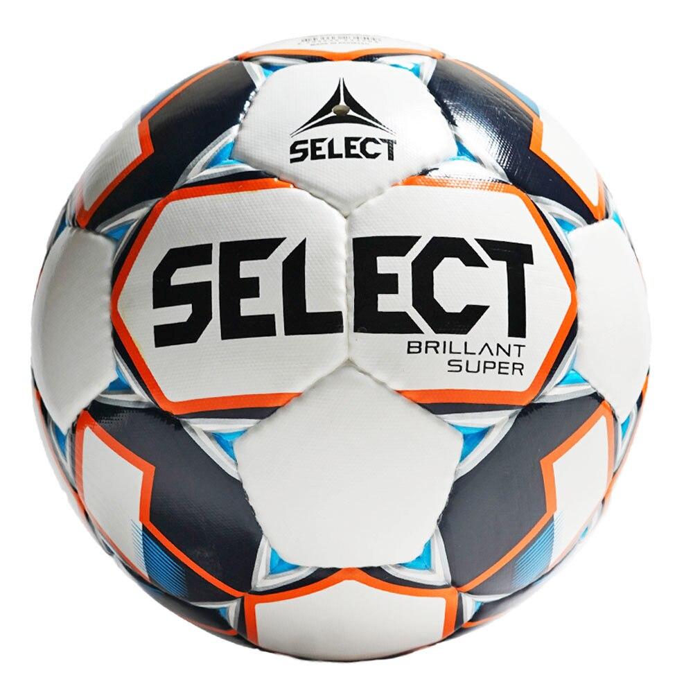 Select Brillant Super Fotball Hvit/Blå