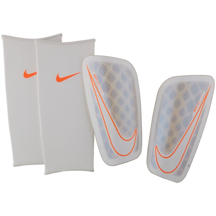 Nike Mercurial Flylite Leggskinn Hvit/Grå