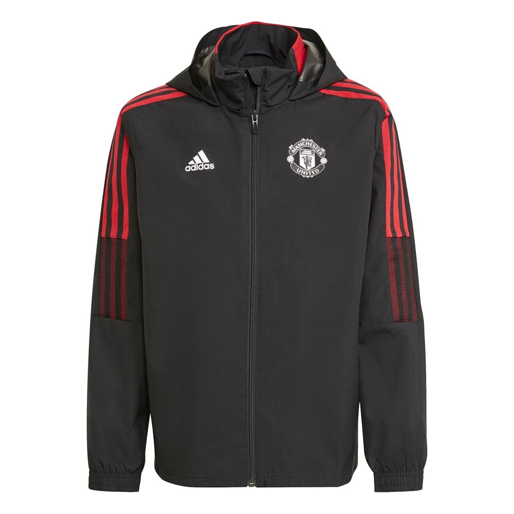 Adidas Manchester Allværsjakke 21/22 Barn Sort