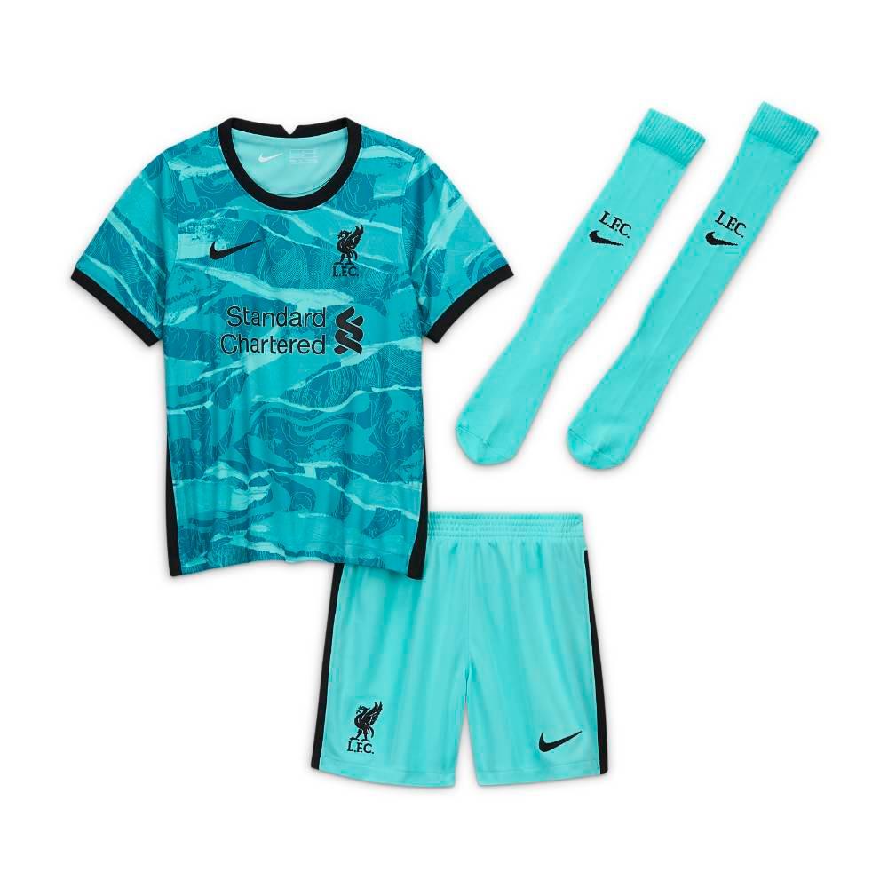 Nike Liverpool FC Draktsett 20/21 Borte Barn
