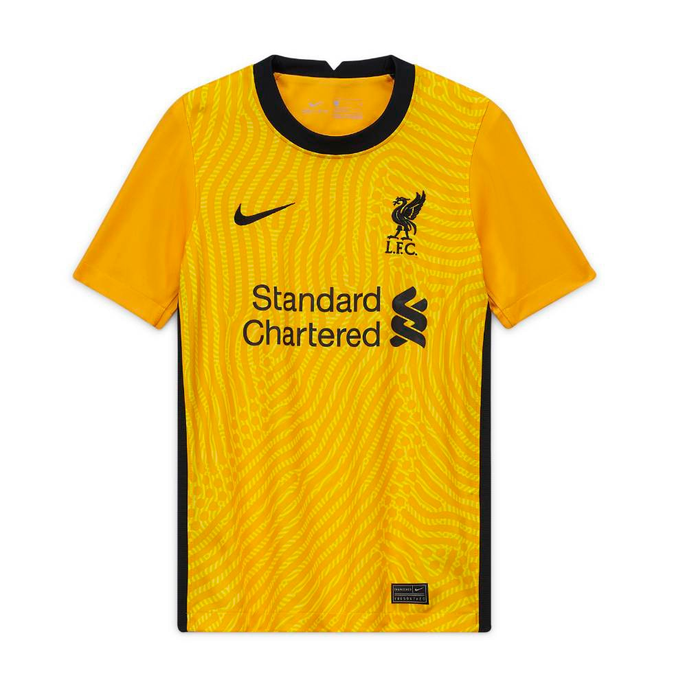 Nike Liverpool FC Fotballdrakt 20/21 Keeper Barn Gul