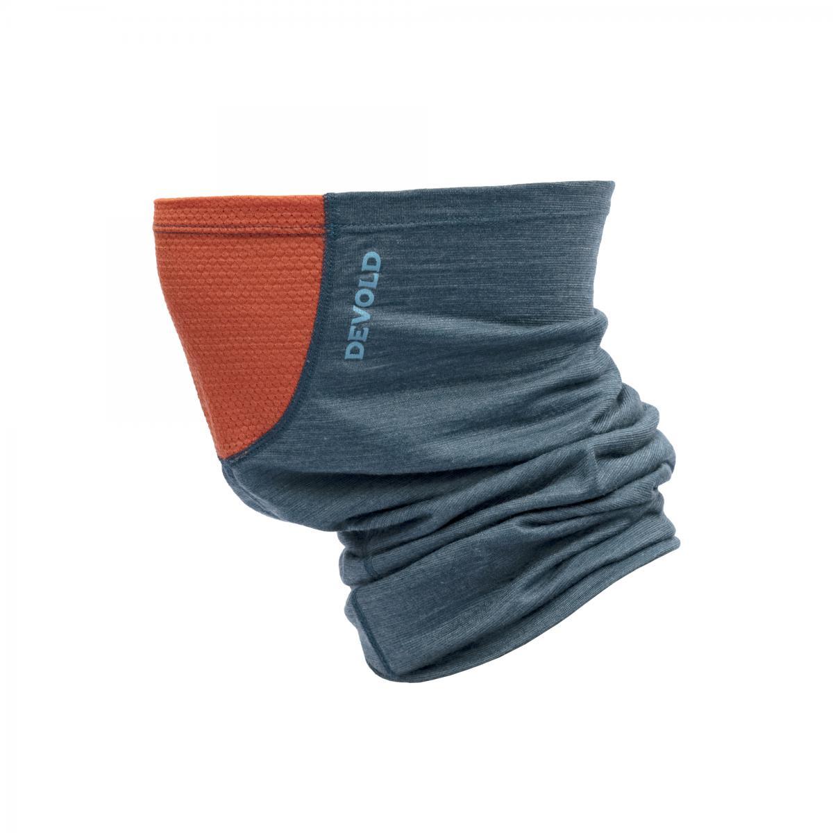 Devold Buff Refleks Gråblå/Oransje