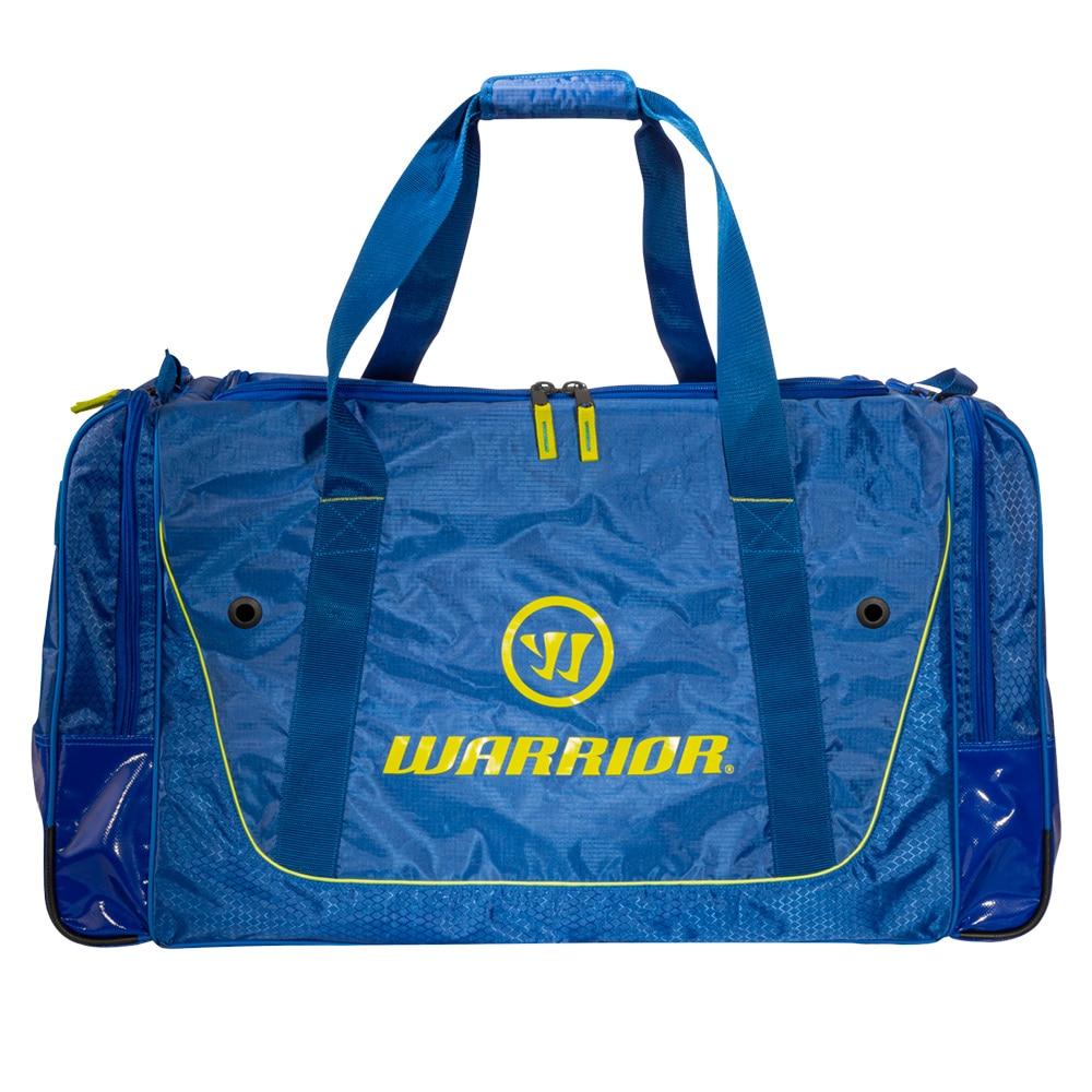 Warrior Q20 Cargo Hockeybag med hjul Blå/Gul