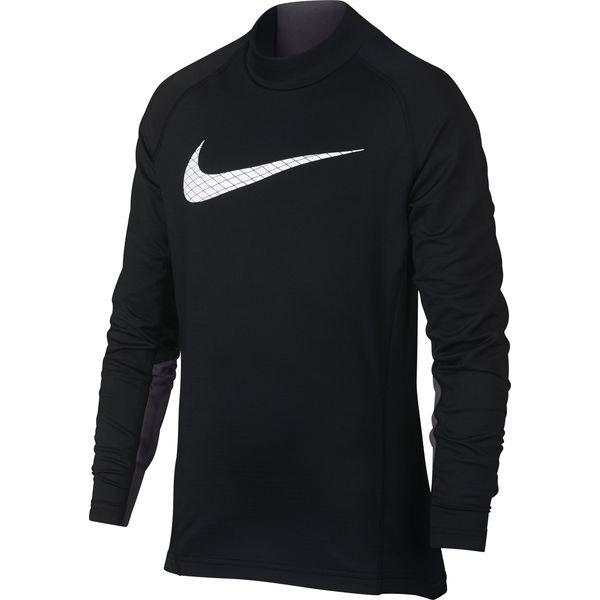 Nike Pro Warm Compression Langermet Mock Barn Sort