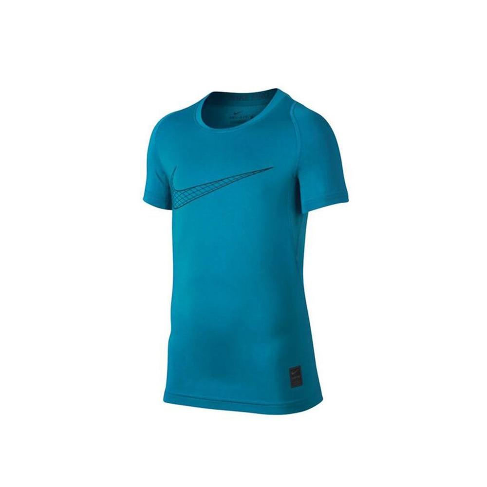 Nike Top Baselayer Barn Turkis/Blå
