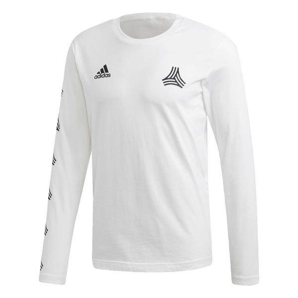 Adidas Tango Langermet T-skjorte Hvit