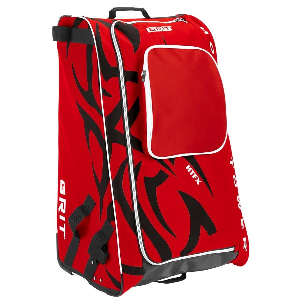 Grit Tower Hockeybag med hjul Rød