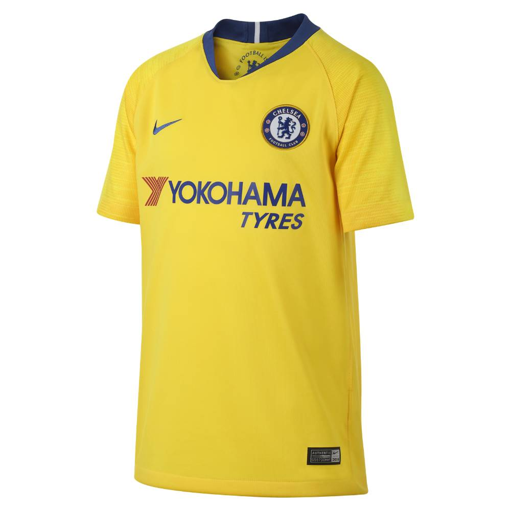 Nike Chelsea Fotballdrakt 18/19 Borte Barn