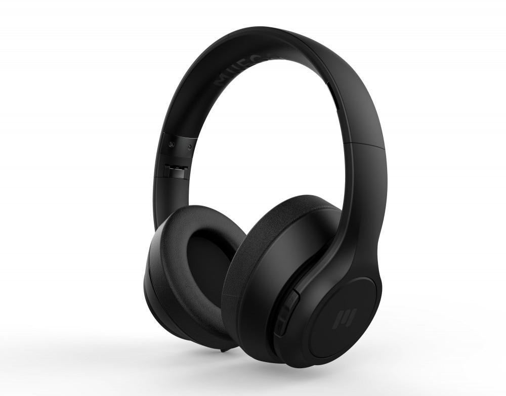 Miiego BOOM Trådløse Hodetelefoner Bluetooth Sort