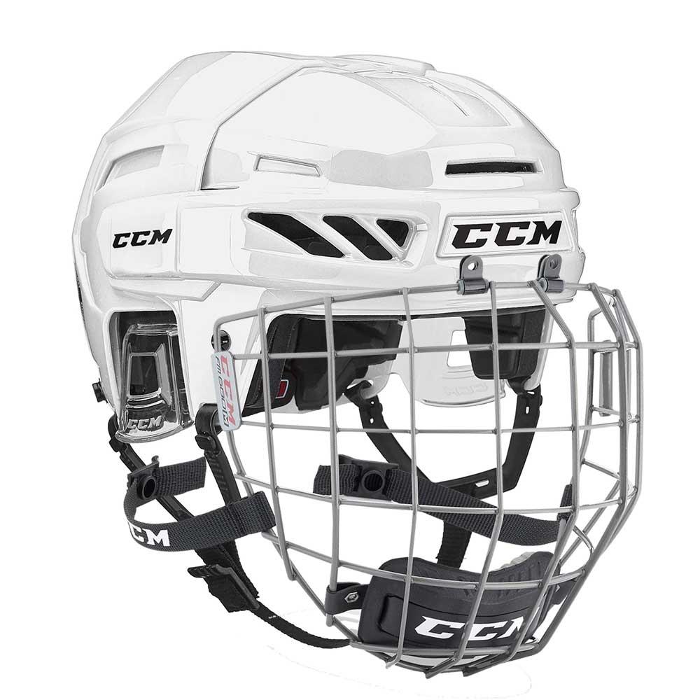 Ccm Fitlite 90 Combo Hockeyhjelm Hvit