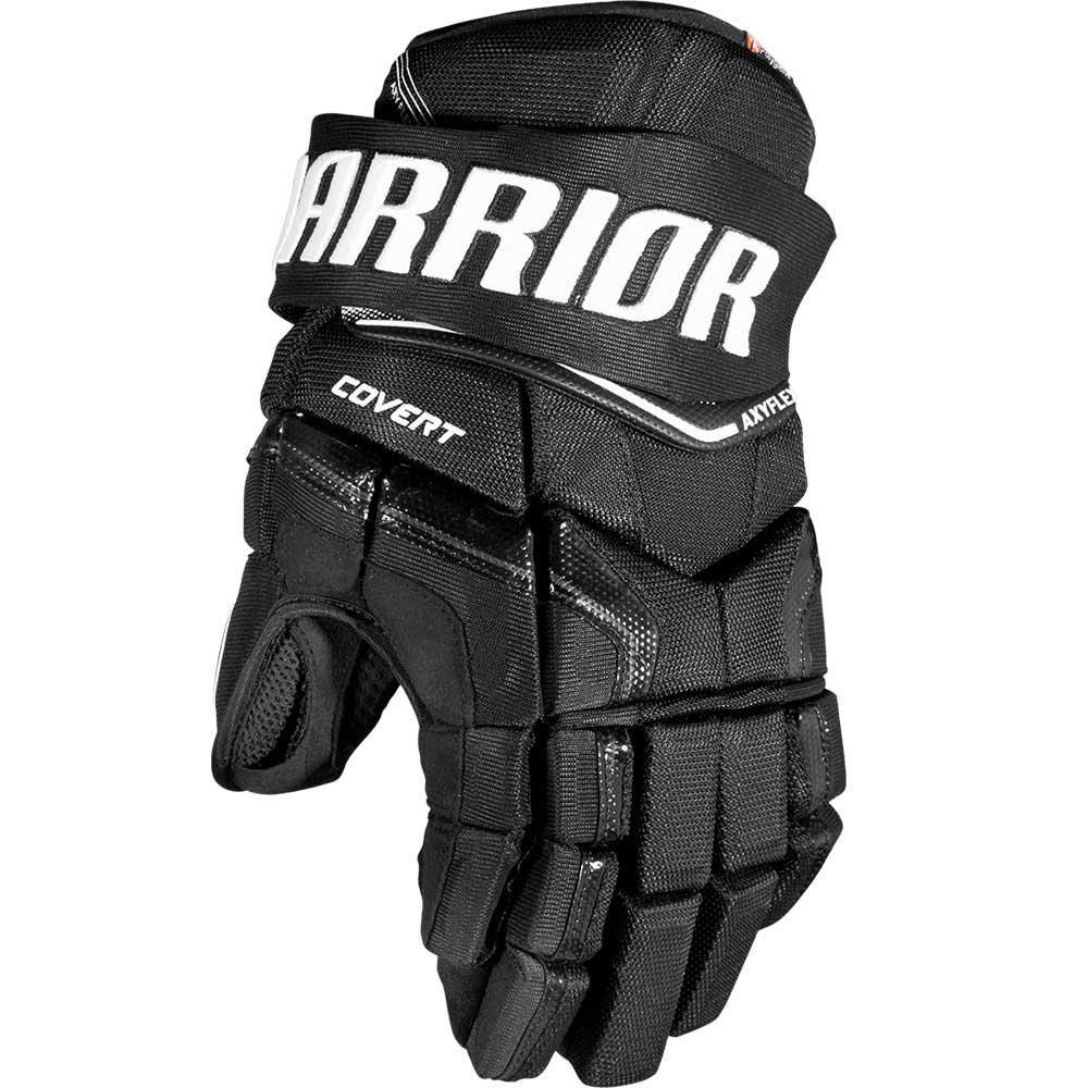 Warrior Covert QRE Junior Hockeyhanske Svart