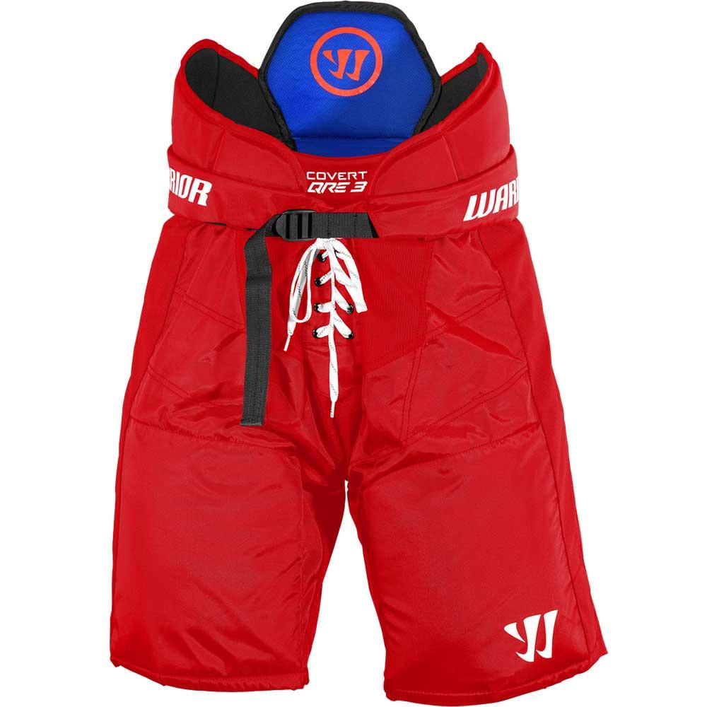 Warrior Covert QRE 3 Junior Hockeybukse Rød