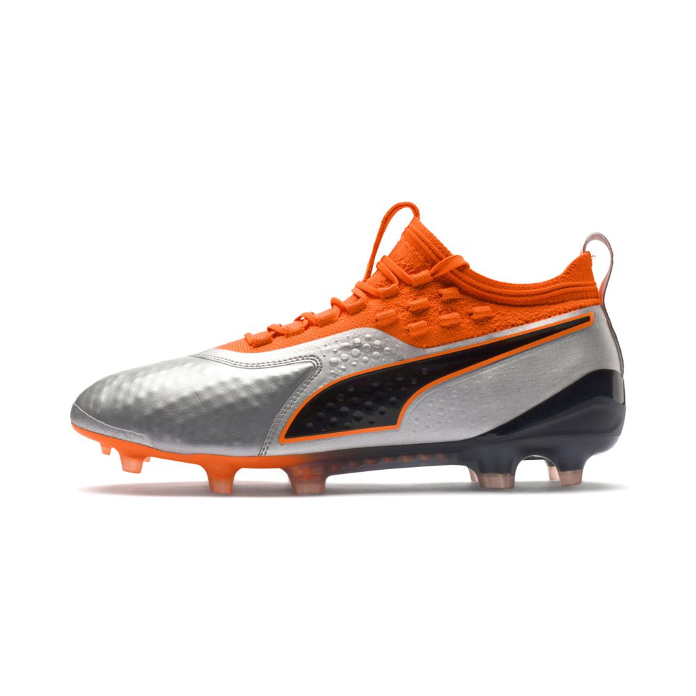 Puma ONE 1 Leather FG/AG Skinn Fotballsko Uprising Pack