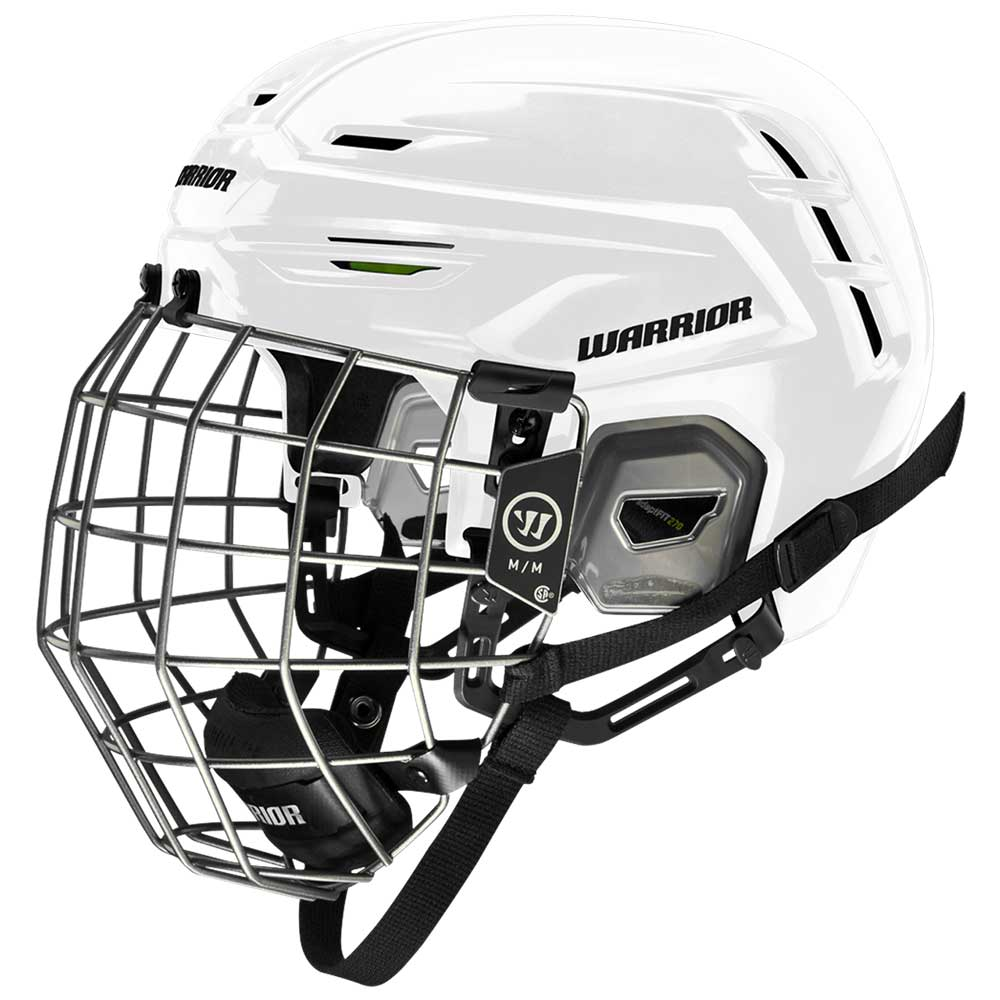 Warrior Alpha One Pro Combo Hockeyhjelm Hvit