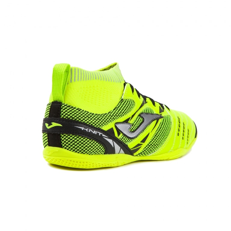 Joma Knit Fluorescent Futsal Innendørs Fotballsko