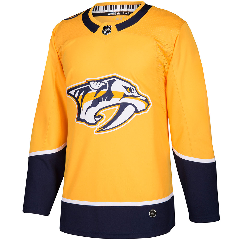 Adidas NHL Authentic Pro Hockeydrakt Nashville Predators Hjemme