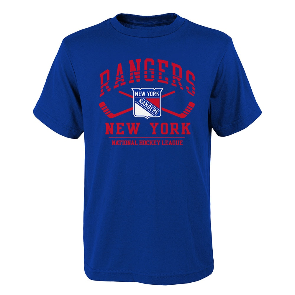 Outerstuff NHL Fundemental Barn T-skjorte New York Rangers