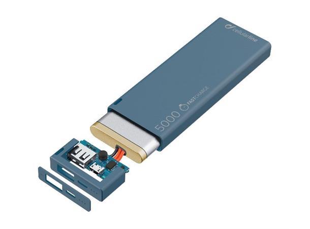 CellularLine FreePower Slim 5000 Nødlader