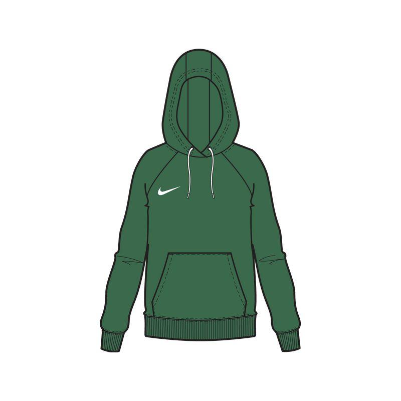 Nike Park 20 Hettegenser Dame Grønn