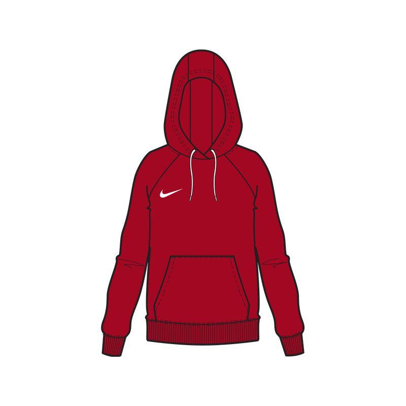 Nike Park 20 Hettegenser Dame Rød