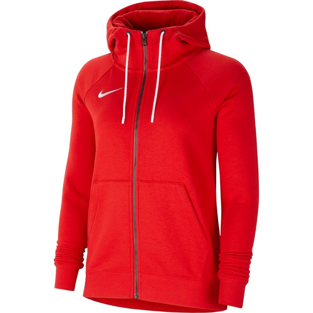 Nike Park 20 Full-Zip Hettegenser Dame Rød