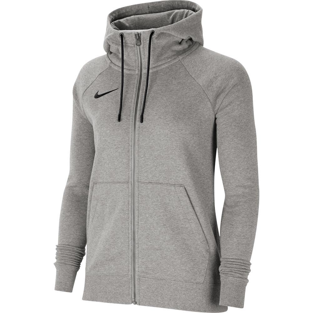 Nike Park 20 Full-Zip Hettegenser Dame Grå