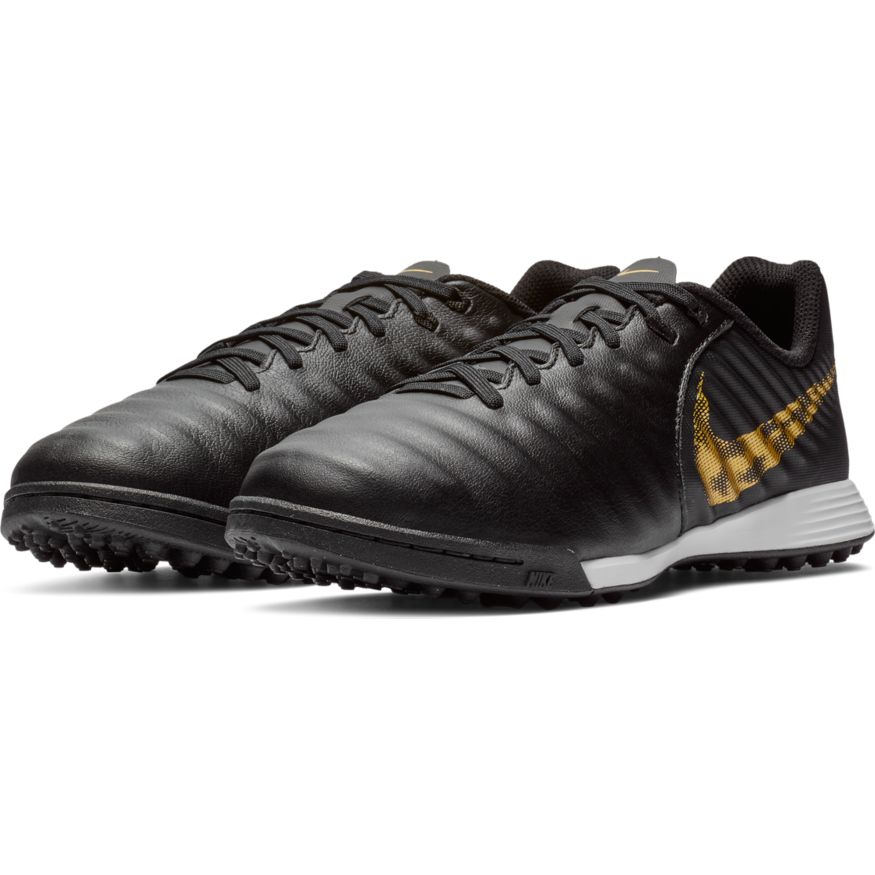 Nike TiempoX Legend VII Academy TF Fotballsko Barn Black Lux Pack