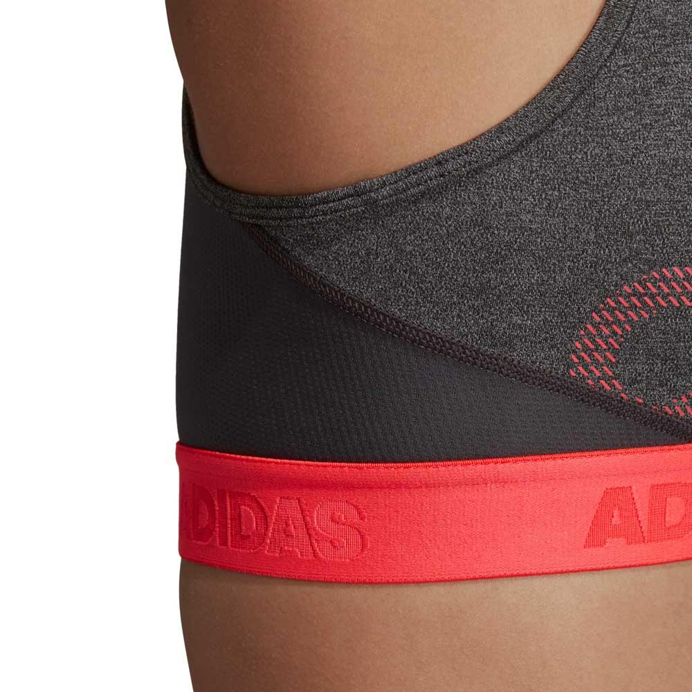 Adidas Don't Rest Alphaskin Sports-BH Grå