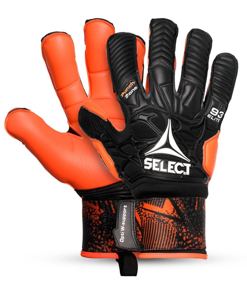 Select 93 Elite Keeperhansker Sort/Oransje