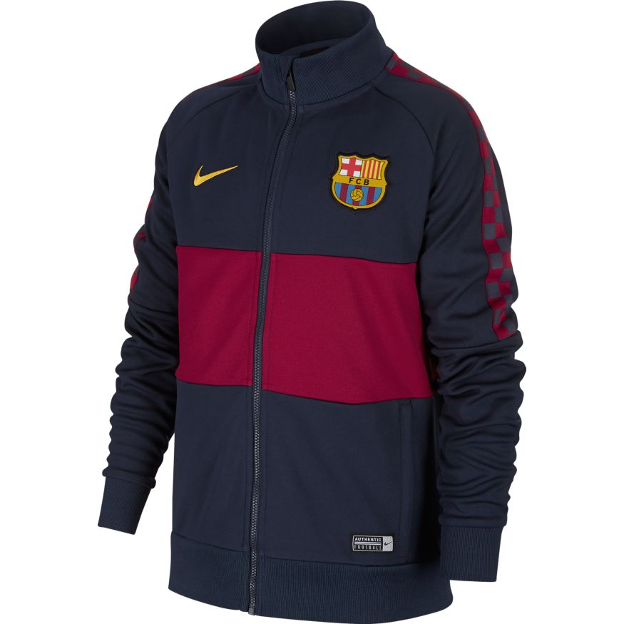 Nike FC Barcelona Fotballjakke 19/20 Barn