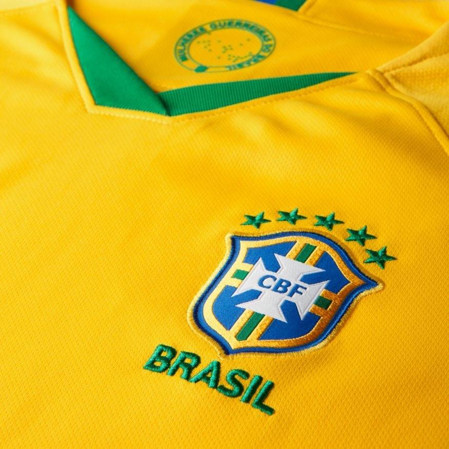 Nike Brasil Fotballdrakt VM 2019 Hjemme Dame