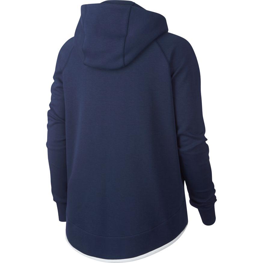 Nike Frankrike VM 2019 Tech Fleece Cape FullZip Hettegenser