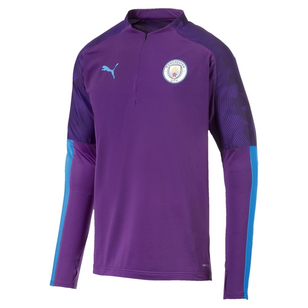 Puma Manchester City 1/4 Zip Fotballgenser Barn 19/20