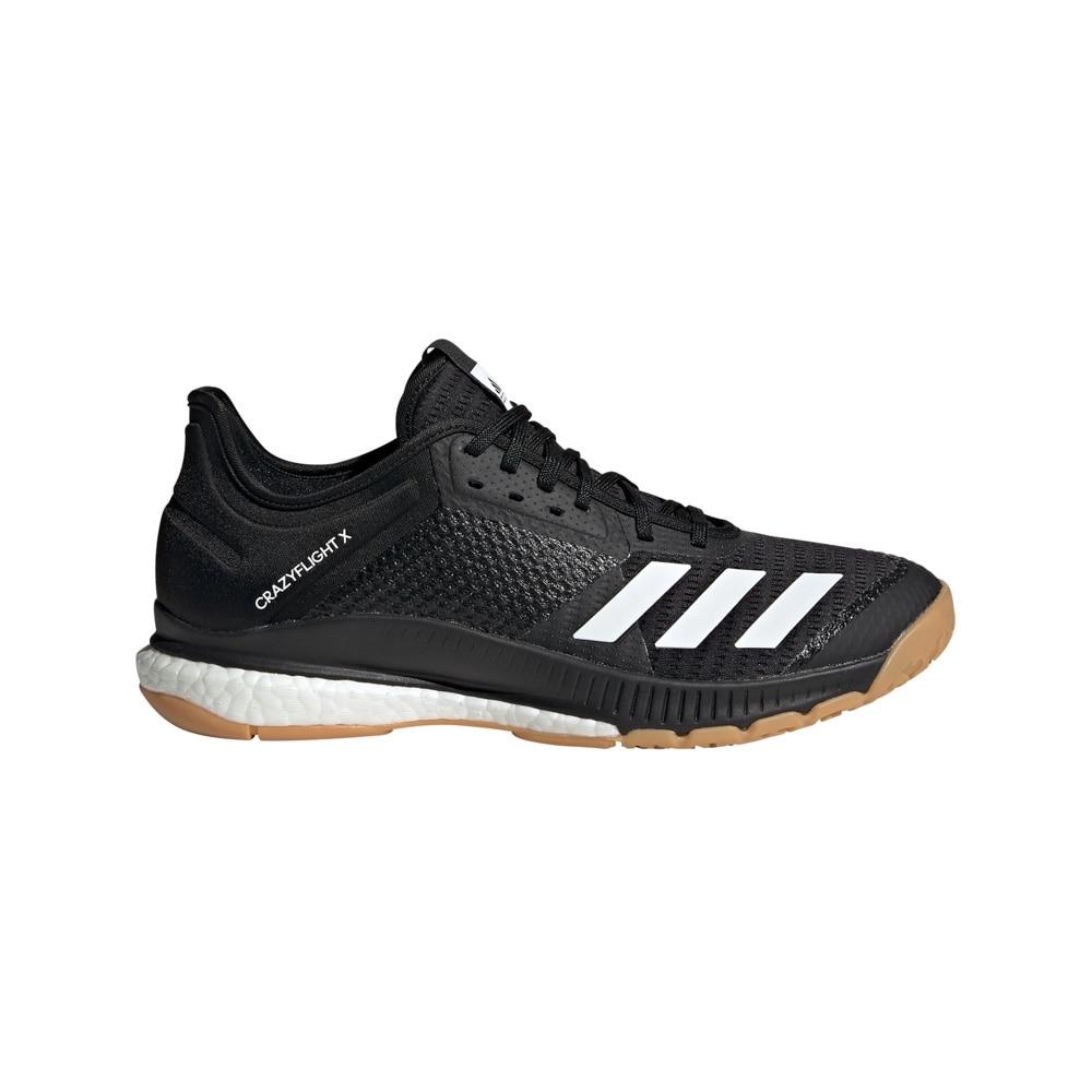 Adidas Crazyflight X 3 Hallsko Hvit