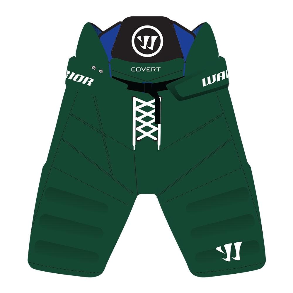 Warrior Covert QRE PRO Custom Junior Hockeybukse Grønn