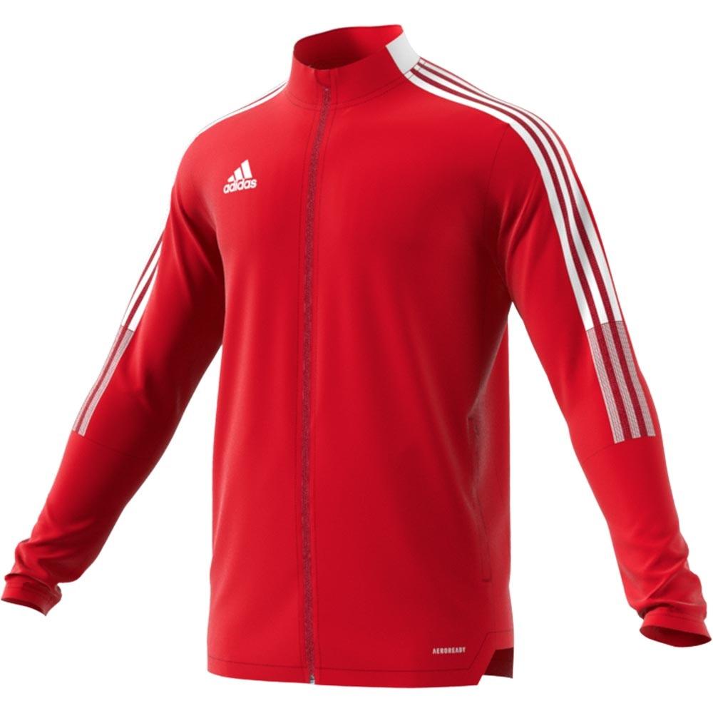 Adidas Tiro 21 Track Treningsjakke Rød