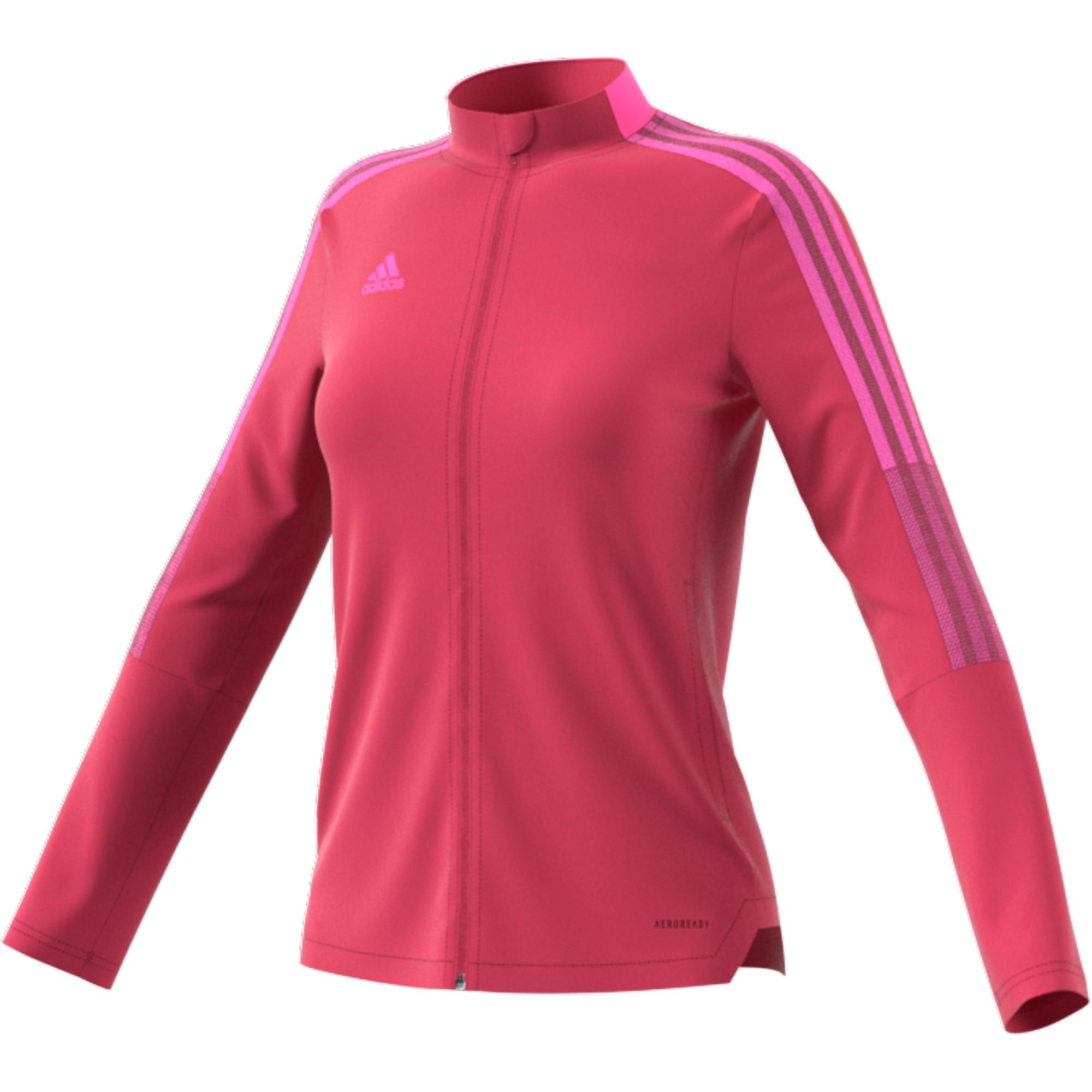 Adidas Tiro 21 Track Treningsjakke Dame Rosa