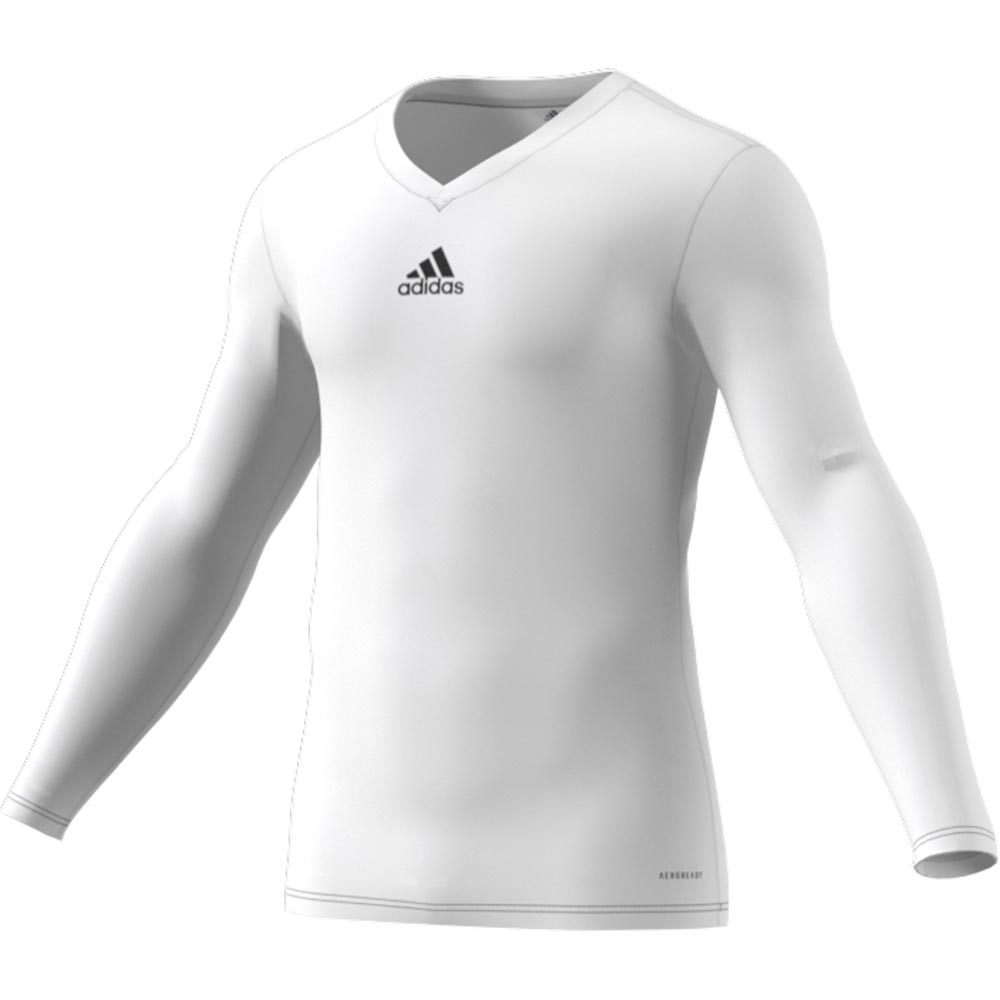 Adidas Team Base Tee Baselayer Barn Hvit