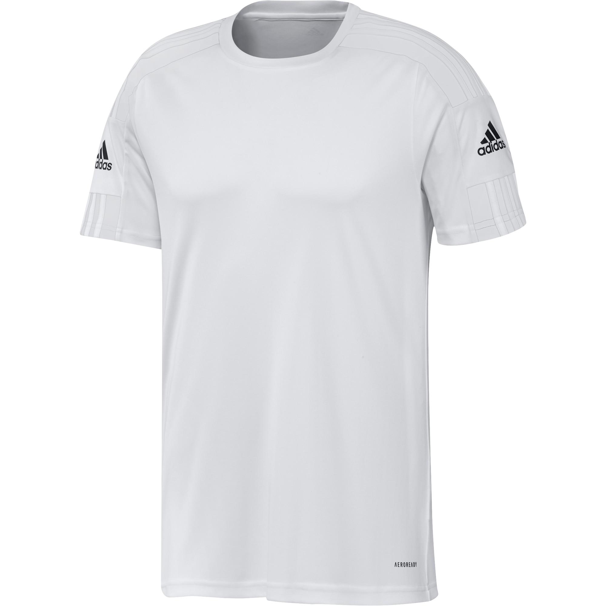 Adidas Squad 21 Kortermet Spillertrøye Hvit/Hvit
