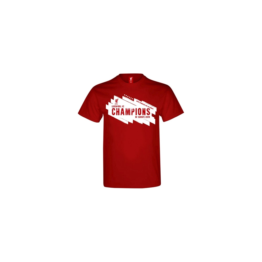 """Official Product Liverpool FC T-Skjorte """"Champions of Europe 2019"""""""